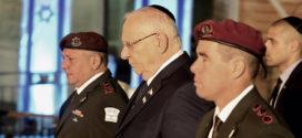 הנשיא ראובן ריבלין מדבר על נמרוד בטקס יום הזכרון